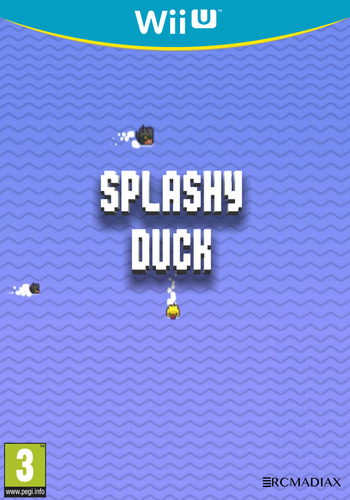 SPLASHY DUCK WiiU coverM (AVLP)