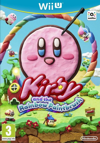 Kirby and the Rainbow Paintbrush WiiU coverM (AXYP01)