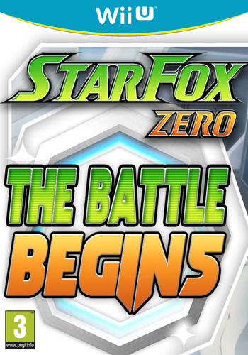 Star Fox Zero - The Battle Begins WiiU coverM (BAEP)