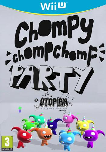 Chompy Chomp Chomp Party WiiU coverM (BCHP)