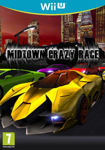 Midtown Crazy Race WiiU coverM (BCRP)
