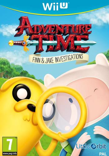 Adventure Time: Finn & Jake Investigations WiiU coverM (BFNPVZ)