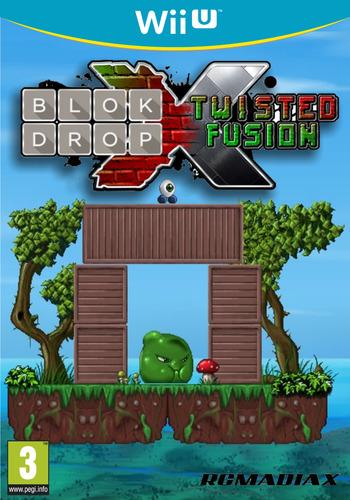 Blok Drop X: Twisted Fusion WiiU coverM (BLXP)