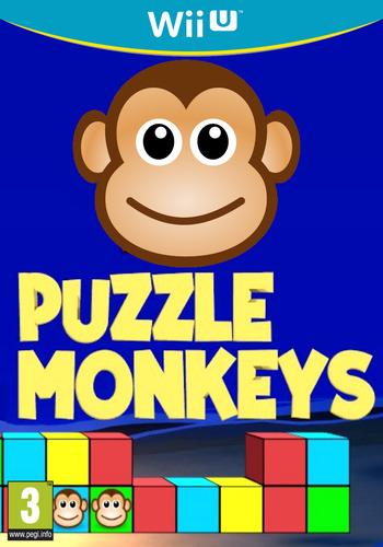 Puzzle Monkeys WiiU coverM (BPZP)