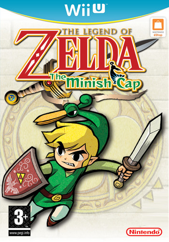 The Legend of Zelda: The Minish Cap WiiU coverM (PAKP)
