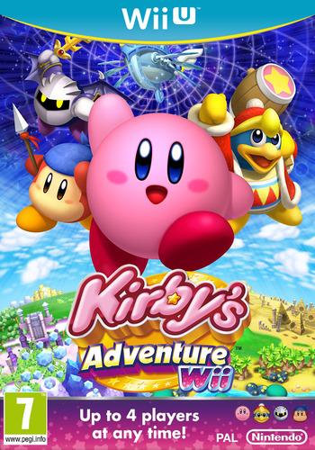 Kirby's Adventure Wii WiiU coverM (VADP)