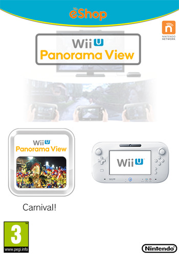 Wii U Panorama View: Carnival! Array coverM (WBRP)