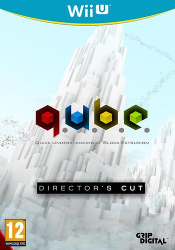 Q.U.B.E: Director's Cut WiiU coverM (WDCP)