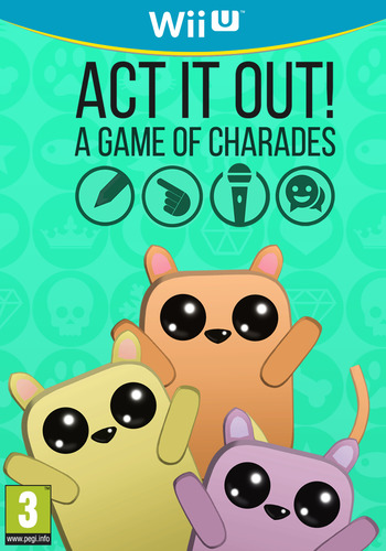 ACT IT OUT! A Game of Charades Array coverM (WGQP)