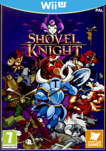 Shovel Knight WiiU coverM (WKNPAY)