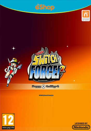 Mighty Switch Force! 2 WiiU coverM (WM2P)