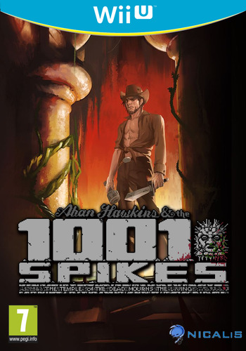 1001 Spikes WiiU coverM (WM9P)