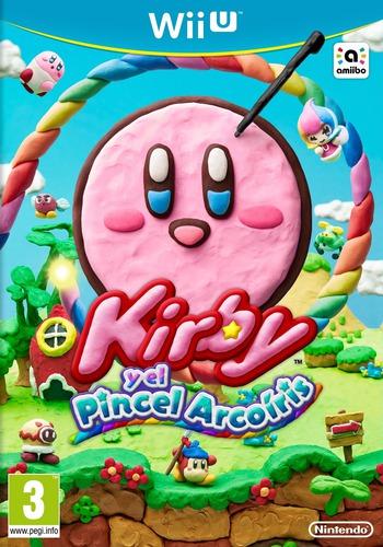 Kirby y el Pincel Arcoiris WiiU coverM (AXYP01)