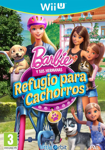 Barbie y sus hermanas: Refugio para cachorros WiiU coverM (BRQPVZ)