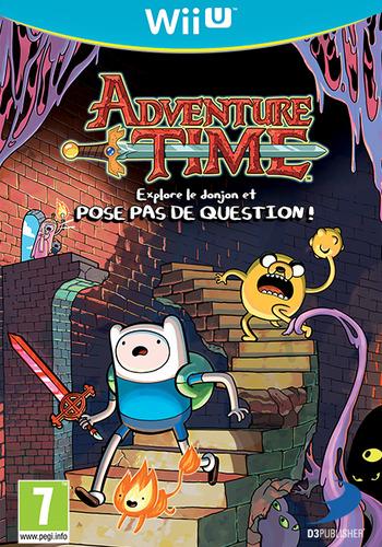Adventure Time:explore le donjon et POSE PAS DE QUESTION ! WiiU coverM (ADVPAF)