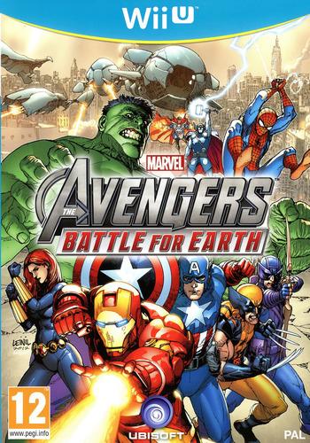 Marvel Avengers: Battle for Earth WiiU coverM (AMVP41)