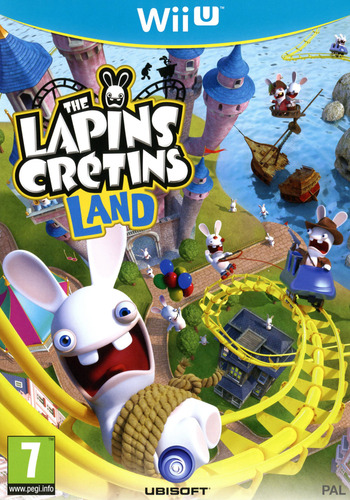 The Lapins Crétins Land WiiU coverM (ARBP41)