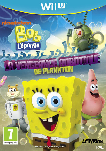 Bob l'éponge : La vengeance robotique de Plankton WiiU coverM (AS5P52)