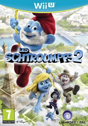 Les schtroumpfs 2 WiiU coverM (ASUP41)