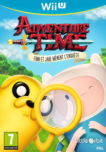 Adventure Time:Finn Et Jake Mènent L'enquête WiiU coverM (BFNPVZ)