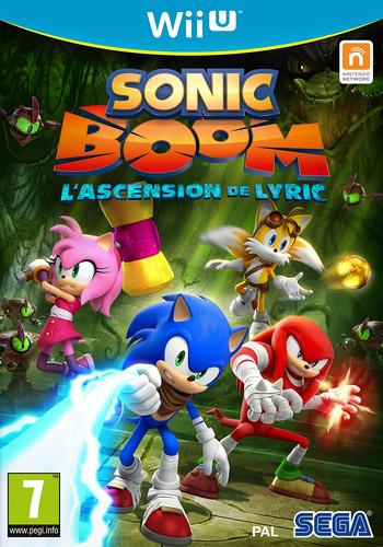 Sonic Boom:L'Ascension De Lyric WiiU coverM (BSSP8P)