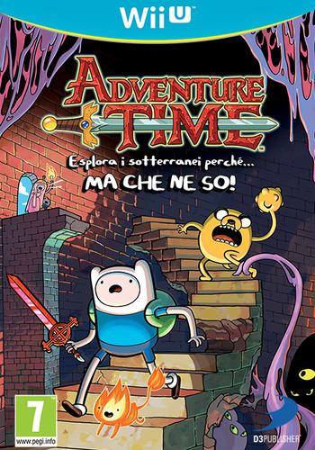 Adventure Time: Esplora i sotterranei perché MA CHE NE SO! WiiU coverM (ADVPAF)