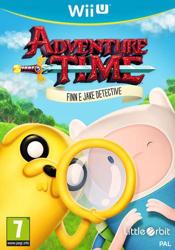 Adventure Time: Finn e Jake detective WiiU coverM (BFNPVZ)