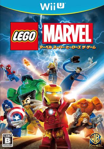 LEGOレゴ マーベル スーパーヒーローズ ザ・ゲーム WiiU coverM (ALMJWR)