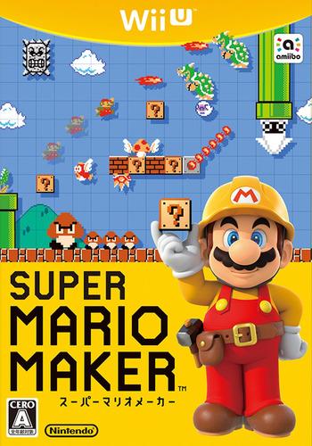 スーパーマリオメーカー WiiU coverM (AMAJ01)