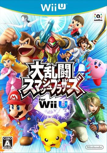 大乱闘スマッシュブラザーズ for Wii U WiiU coverM (AXFJ01)