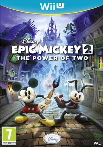 Disney Epic Mickey 2: The Power of Two WiiU coverM (AEMP4Q)