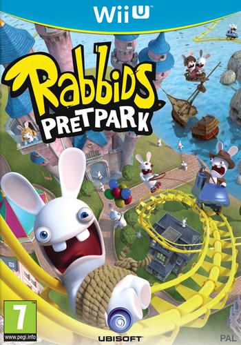 Rabbids Pretpark WiiU coverM (ARBP41)