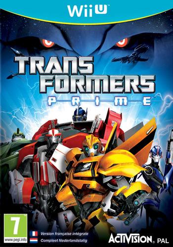 Transformers Prime: The Game WiiU coverM (ATRP52)