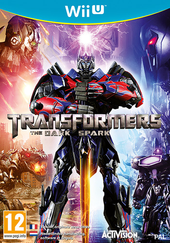 Transformers: The Dark Spark WiiU coverM (AYEP52)