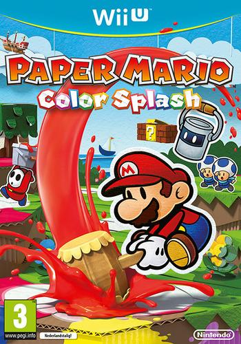 Paper Mario: Color Splash WiiU coverM (CNFP01)