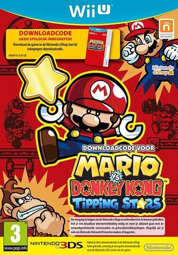 Mario vs. Donkey Kong: Tipping Stars (Download Code) WiiU coverM (WAFP01)