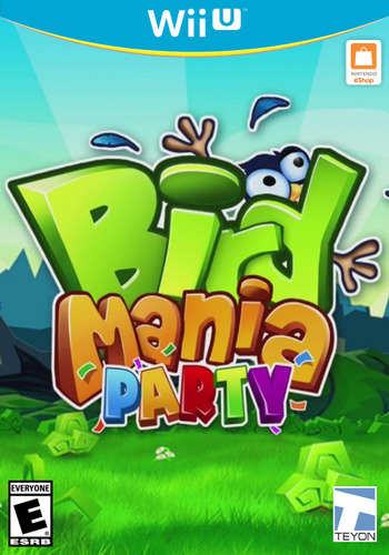 Bird Mania Party WiiU coverM (ABKE)