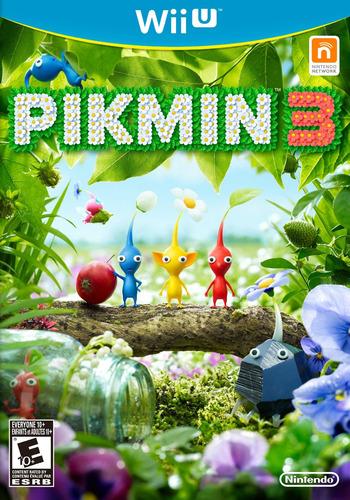 Pikmin 3 WiiU coverM (AC3E01)