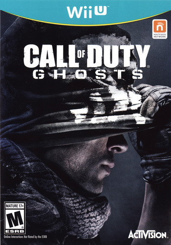 Call of Duty: Ghosts WiiU coverM (ACPE52)