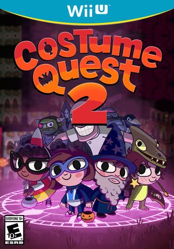 Costume Quest 2 WiiU coverM (ACQE)