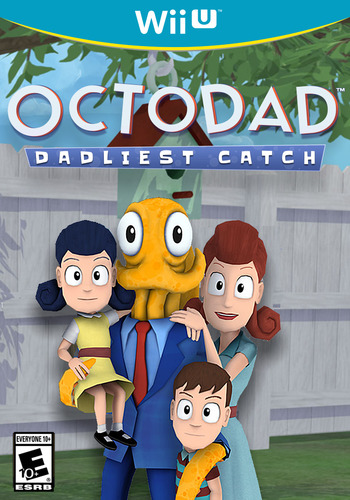 Octodad: Dadliest Catch WiiU coverM (AD5E)