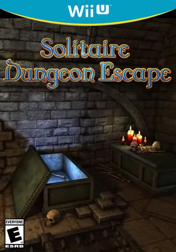 Solitaire Dungeon Escape WiiU coverM (AD7E)