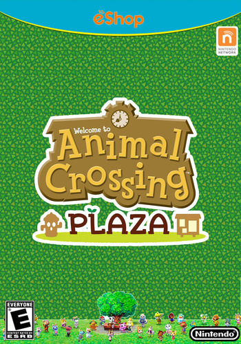 Animal Crossing Plaza WiiU coverM (ADBE)