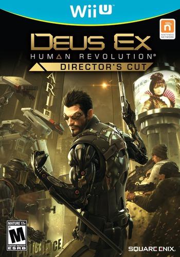 Deus Ex: Human Revolution - Director's Cut WiiU coverM (ADXEGD)