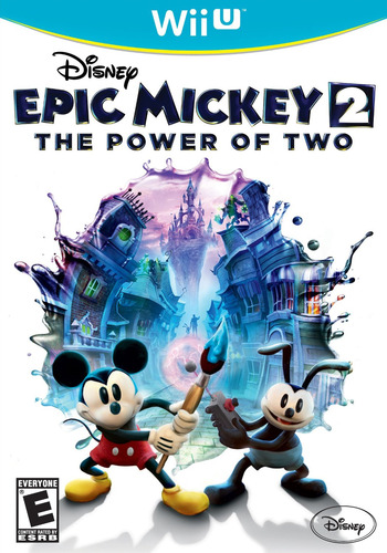 Disney Epic Mickey 2: The Power of Two WiiU coverM (AEME4Q)