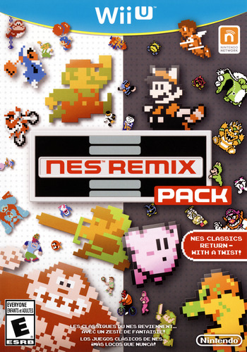 NES Remix Pack WiiU coverM (AFDE01)