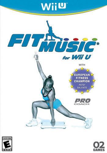 Fit Music for Wii U WiiU coverM (AFME)