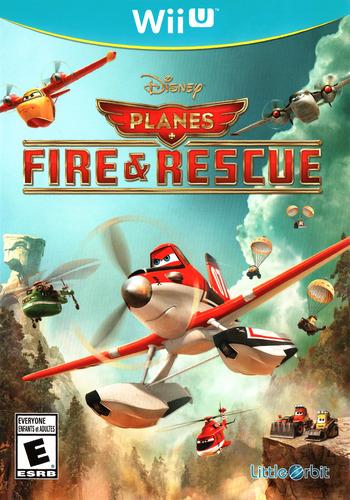 Disney Planes: Fire & Rescue WiiU coverM (AFREVZ)