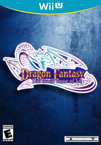 Dragon Fantasy: The Black Tome of Ice WiiU coverM (AFYE)