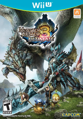 Monster Hunter 3 Ultimate WiiU coverM (AHDE08)